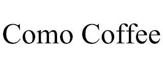 COMO COFFEE trademark