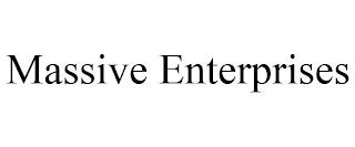 MASSIVE ENTERPRISES trademark