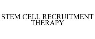 STEM CELL RECRUITMENT THERAPY trademark