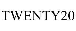 TWENTY20 trademark