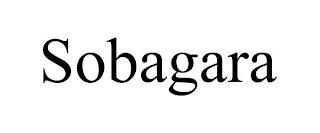SOBAGARA trademark