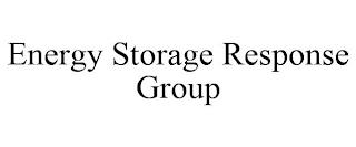 ENERGY STORAGE RESPONSE GROUP trademark