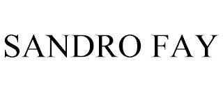 SANDRO FAY trademark