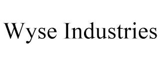 WYSE INDUSTRIES trademark