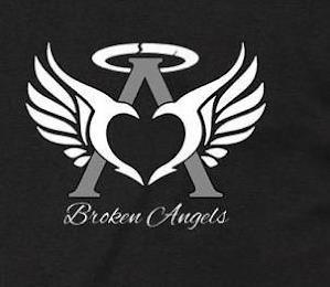 A BROKEN ANGELS trademark