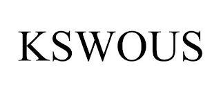 KSWOUS trademark