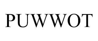 PUWWOT trademark