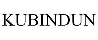 KUBINDUN trademark
