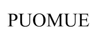 PUOMUE trademark