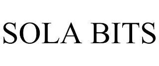 SOLA BITS trademark
