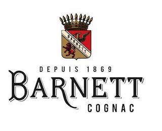 BARNETT DEPUIS 1869 BARNETT COGNAC trademark