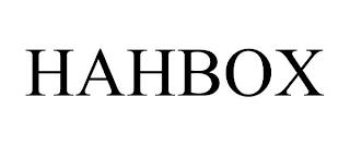 HAHBOX trademark