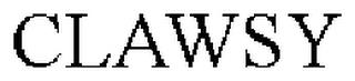CLAWSY trademark