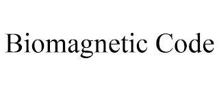 BIOMAGNETIC CODE trademark