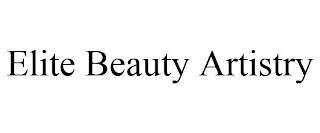 ELITE BEAUTY ARTISTRY trademark
