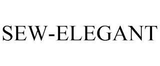 SEW-ELEGANT trademark