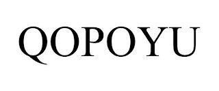 QOPOYU trademark
