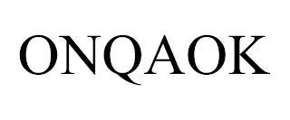ONQAOK trademark