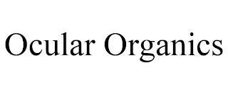 OCULAR ORGANICS trademark