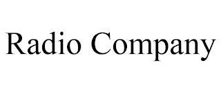 RADIO COMPANY trademark