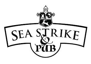 SEA STRIKE & PUB trademark