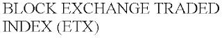BLOCK EXCHANGE TRADED INDEX (ETX) trademark