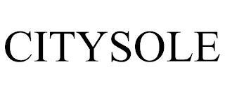 CITYSOLE trademark