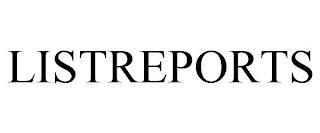 LISTREPORTS trademark