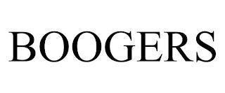 BOOGERS trademark