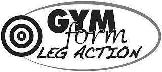 GYMFORM LEG ACTION trademark
