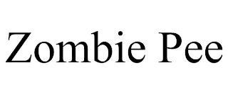 ZOMBIE PEE trademark