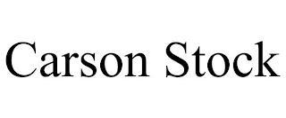 CARSON STOCK trademark