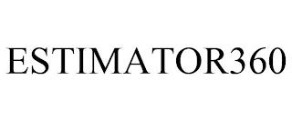 ESTIMATOR360 trademark