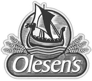OLESEN'S trademark