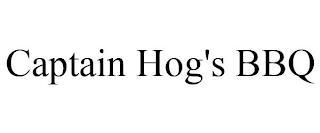 CAPTAIN HOG'S BBQ trademark