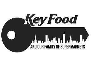 KEY FOOD AND OUR FAMILY OF SUPERMARKETS trademark
