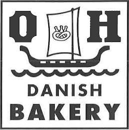 O H DANISH BAKERY trademark
