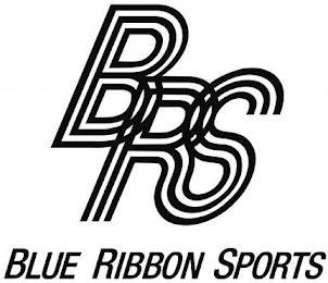 BRS BLUE RIBBON SPORTS trademark