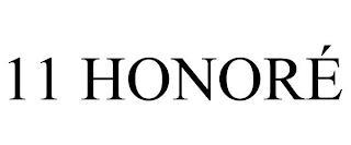 11 HONORÉ trademark
