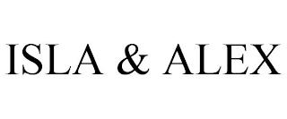 ISLA & ALEX trademark