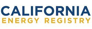 CALIFORNIA ENERGY REGISTRY trademark