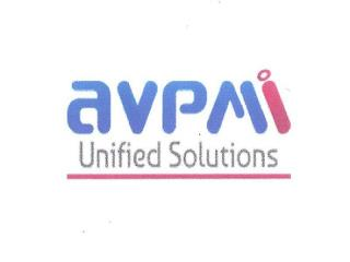 AVPMI UNIFIED SOLUTIONS trademark