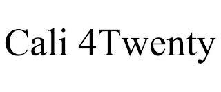 CALI 4TWENTY trademark