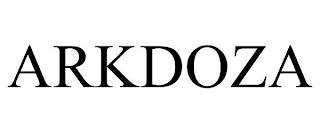 ARKDOZA trademark