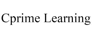 CPRIME LEARNING trademark