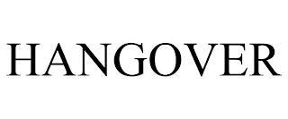 HANGOVER trademark