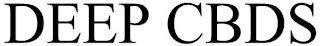DEEP CBDS trademark
