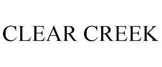CLEAR CREEK trademark