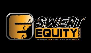 SWEAT EQUITY BRAND INCREASE YOUR VALUE BY HARD WORK trademark