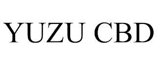 YUZU CBD trademark